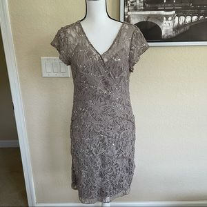 Scarlett lace tiered sequin dress size 12